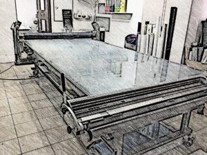 stół do wyklejania