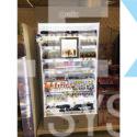 Stand-regał-szafa-na-kosmetyki-lakiery-mydło-szampon-drogeria-podświetlenie-2