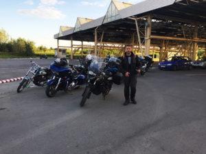Ukraina granica motocykle wyprawa wyjazd